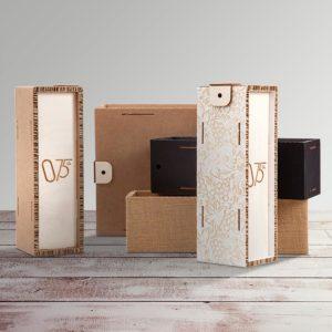 box eco cartone legno - 075cl-ambientata